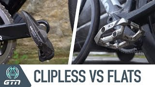 Clipless Vs. Flat Pedals | Which Is Faster For Your Next Triathlon?