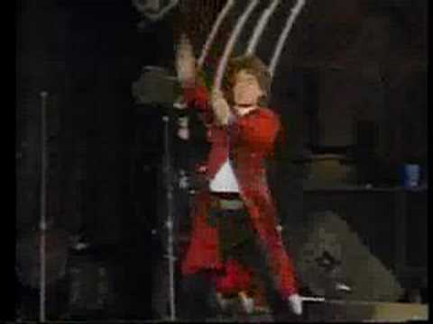 Rolling Stones on Tagesschau Urban Jungle Tour 1990 Hannover