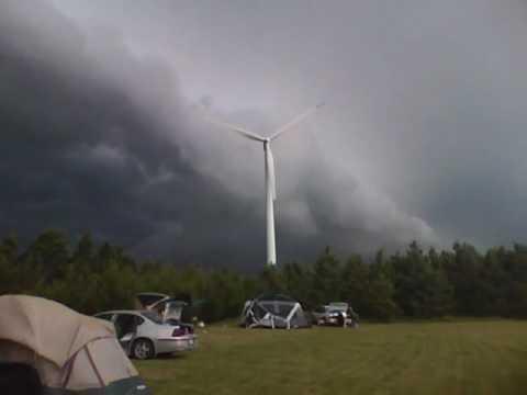 storm in rosebud, sd