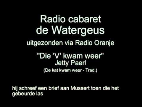 Radio Cabaret de Watergeus, afl 20 - Die 'V' kwam weer