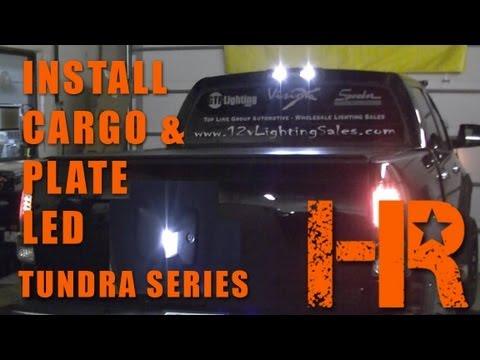 2007 2013 Toyota Tundra Cargo Amp License Plate Lights