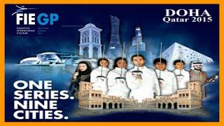 GRAND PRIX FIE Doha 2015 Men Epee - Finals