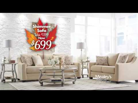 Mealeys Furniture Wonderfall Sales Event