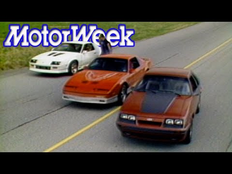 1985 Mustang GT vs. Camaro Iroc-Z vs. Trans Am | Retro Review