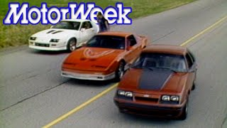 1985 Mustang GT vs. Camaro Iroc-Z vs. Trans Am | Retro Review