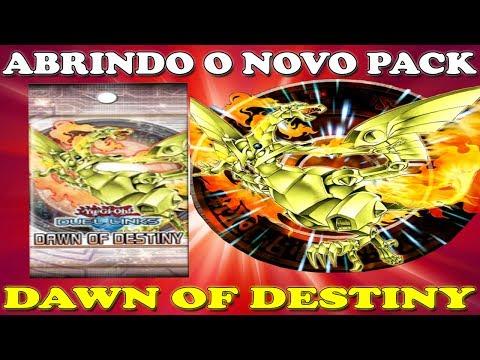 MELHOR ABERTURA DE PACK DA MINHA VIDA DAWN OF DESTINY - YU GI OH! DUEL LINKS