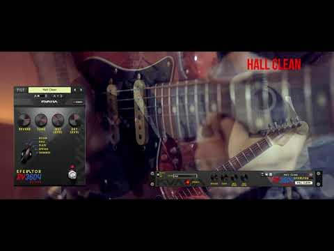 Efektor RV3604 Reverb: Prog Rock Theme