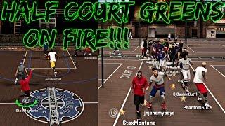NBA 2K17 MyPark - RUNNING UP THE GREENS FROM DEEP W/ JUICEMAN AND PHANTOM SLICE | 11 GAME WIN STREAK