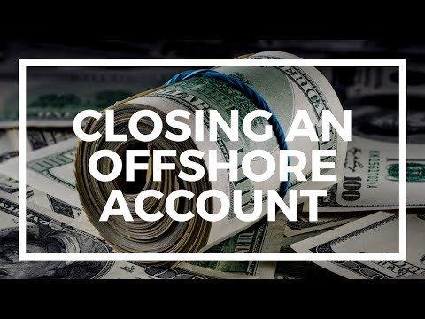 Your offshore company's bank account is closed: What next?