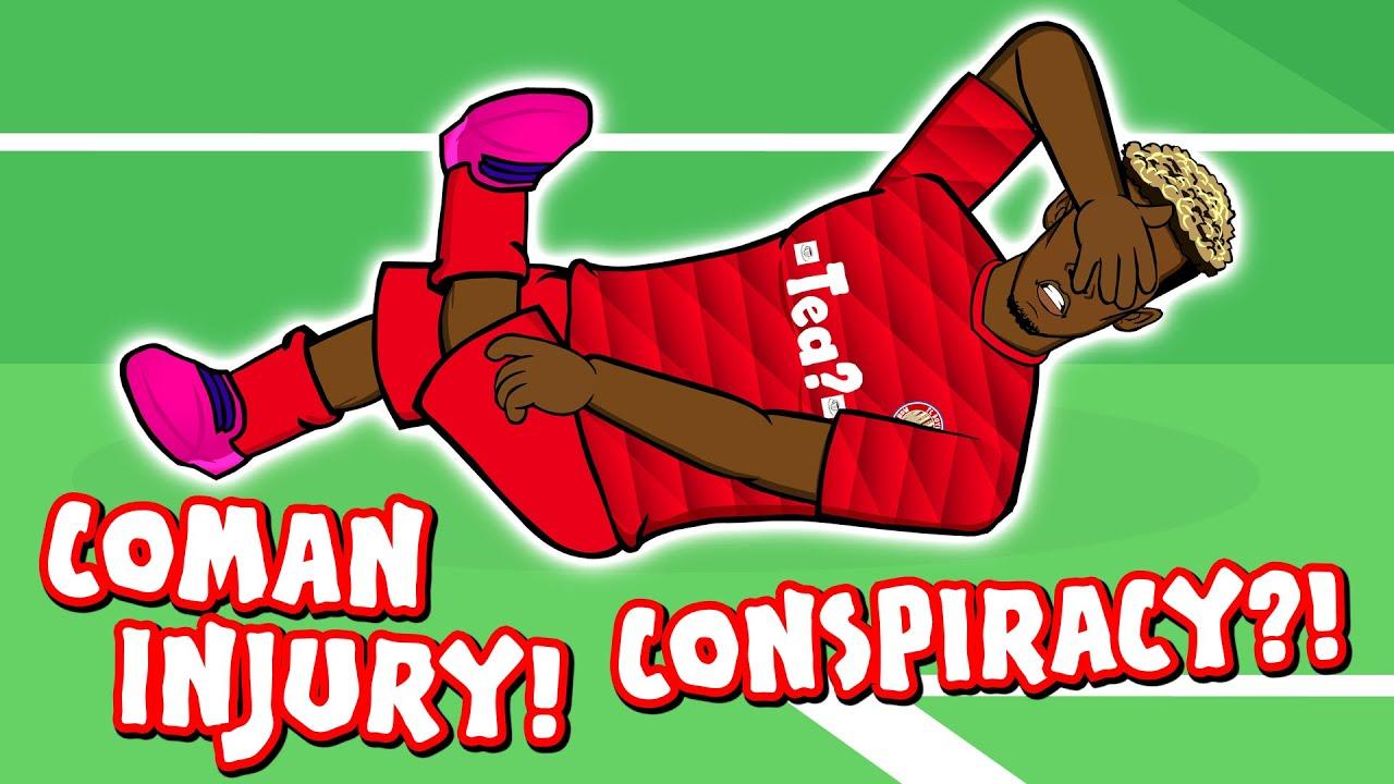 Download 🚑COMAN INJURY CONSPIRACY!🚑 (Bayern Munich vs Tottenham 3-1 Parody)