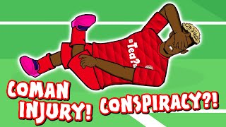 🚑COMAN INJURY CONSPIRACY!🚑 (Bayern Munich vs Tottenham 3-1 Parody)