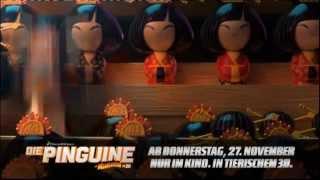 Official The Penguins of Madagascar Movie TV-Trailer (Deutsch/German)