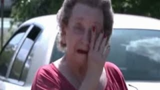 When 4 Boys Sneak Into An Elderly Woman's Yard She Grabs Them And The Tears