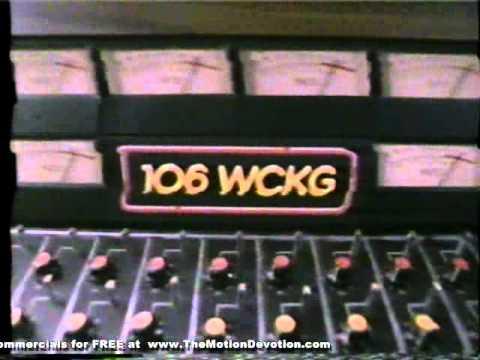 CHICAGO classic rock radio : WCKG-FM - 1987 television ad