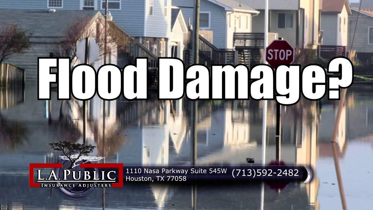 "Public Insurance Adjuster Houston Texas ""Flood?"" - YouTube"