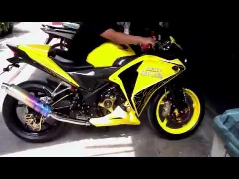 2011 Honda Cbr250r 2011 Moriwaki Exhaust Www Cbr250 Org