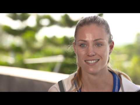 Angelique Kerber | 2017 Brisbane International Pre Tournament Interview