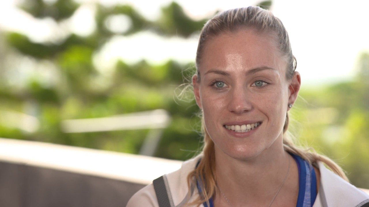 Angelique Kerber Olympic interview - YouTube