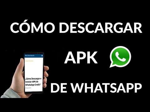 Cómo Descargar e Instalar APK de WhatsApp Gratis