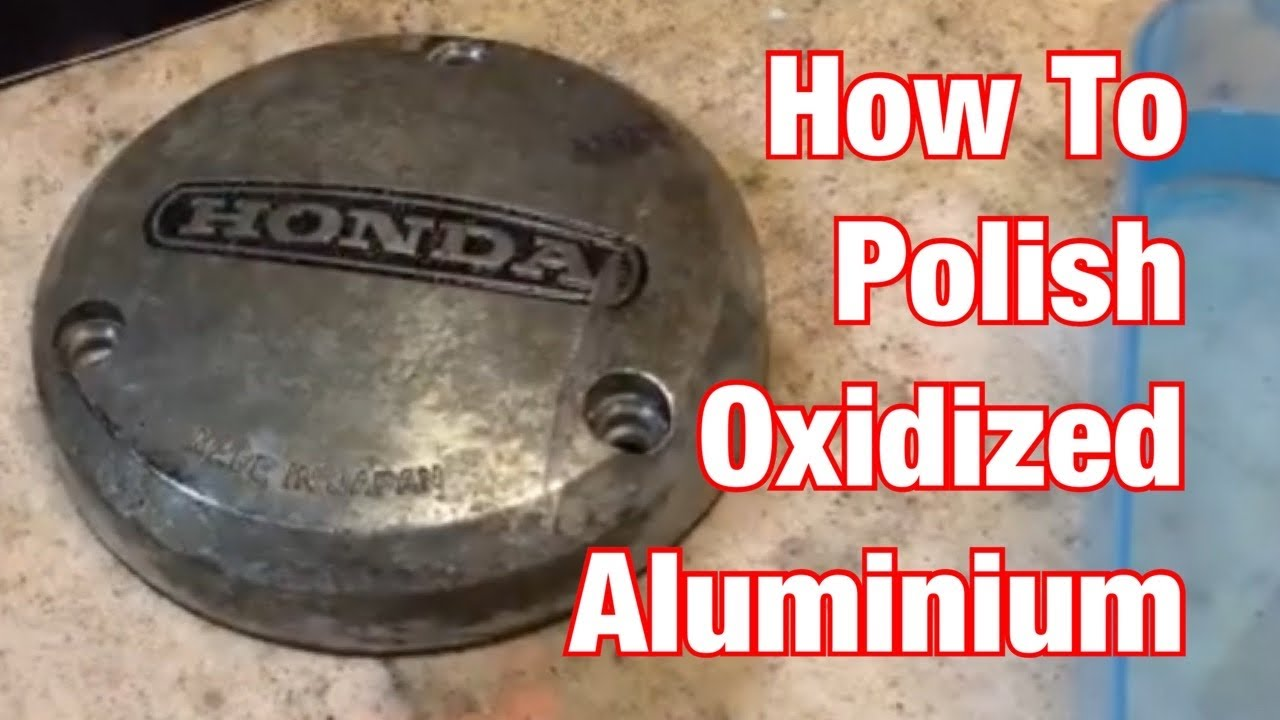 Polish Dirty Aluminum Motorcycle Parts the Old Fashioned Way: Part 12