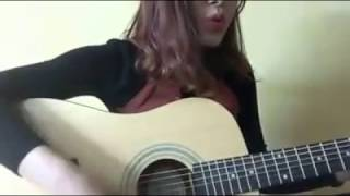 Guitar cover Let me love you - By Hông Nhung- justin Bieber