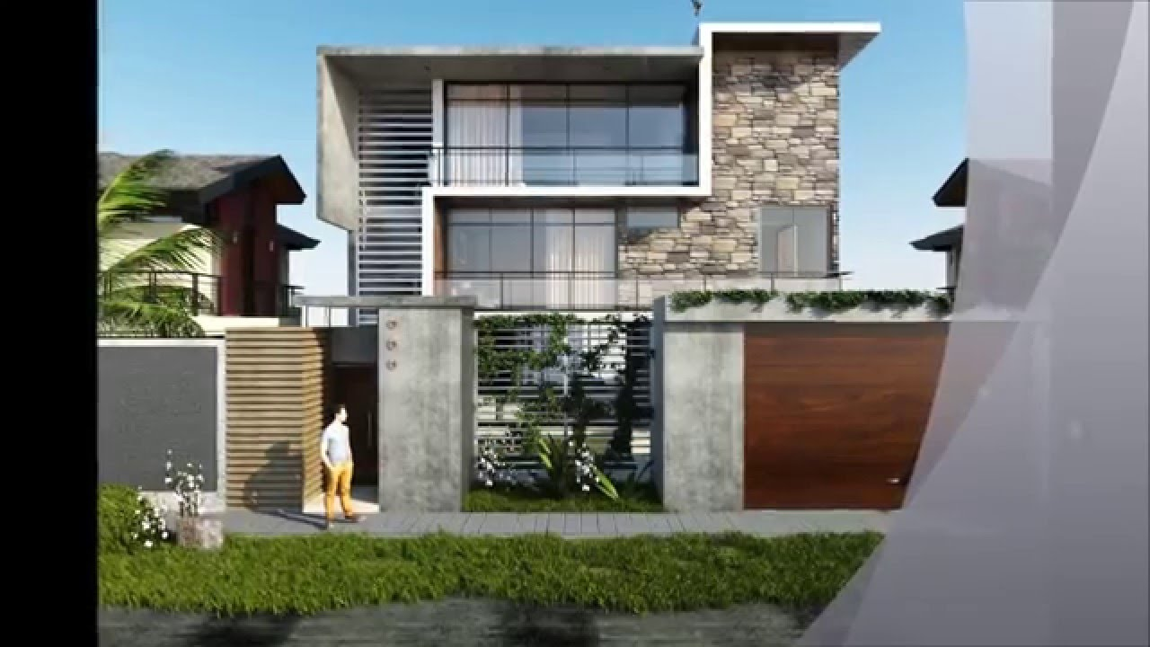 Sketchup 3d model modern house render vray lumion for Architecte 3d vs sketchup
