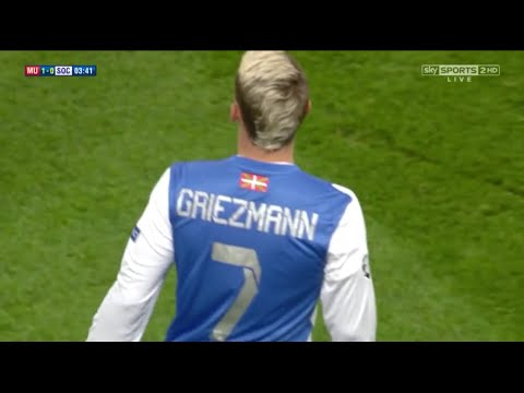 Antoine Griezmann vs Manchester United Away (23/10/2013) By CROSE