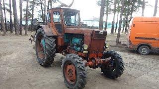 Ремонт трактора Т-40 АМ ч №3,замена масла.