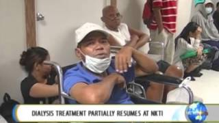 NewsLife: Dialysis treatment partially resumes at NKTI || June 9, 2014