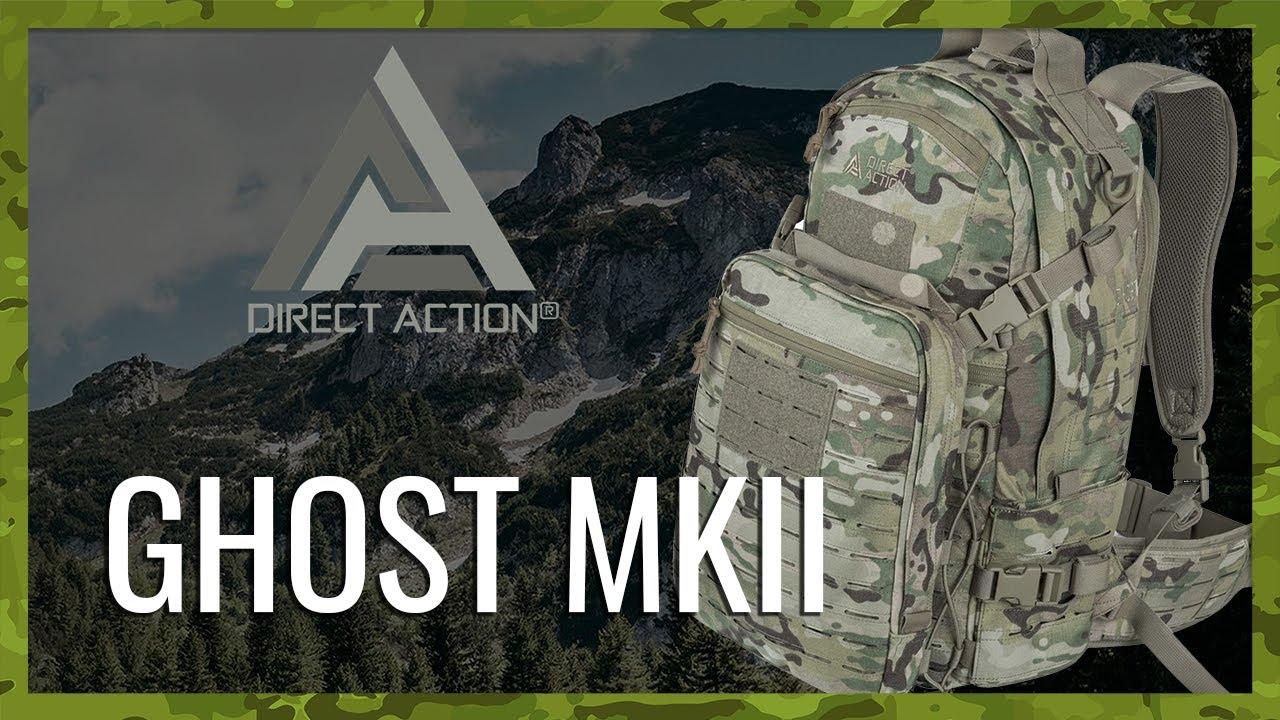 II mochila BW camuflaje backpack cordura ® Bundeswehr Direct Action Ghost ® Mk