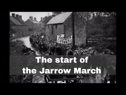 5th October 1936: The Jarrow March departs for London