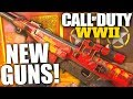 ALL NEW COD WWII GUNS! Blunderbuss, PTRS Sniper, Nambu SMG, Lever Action & Stinger Gameplay (EVENT)
