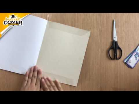 Master Cover Self-Adhesive Book Cover Roll Colouring(with Slide Cutter) Instruction