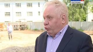 Меценат Виктор Тырышкин проверил, как идёт восстановление Костромского Кремля