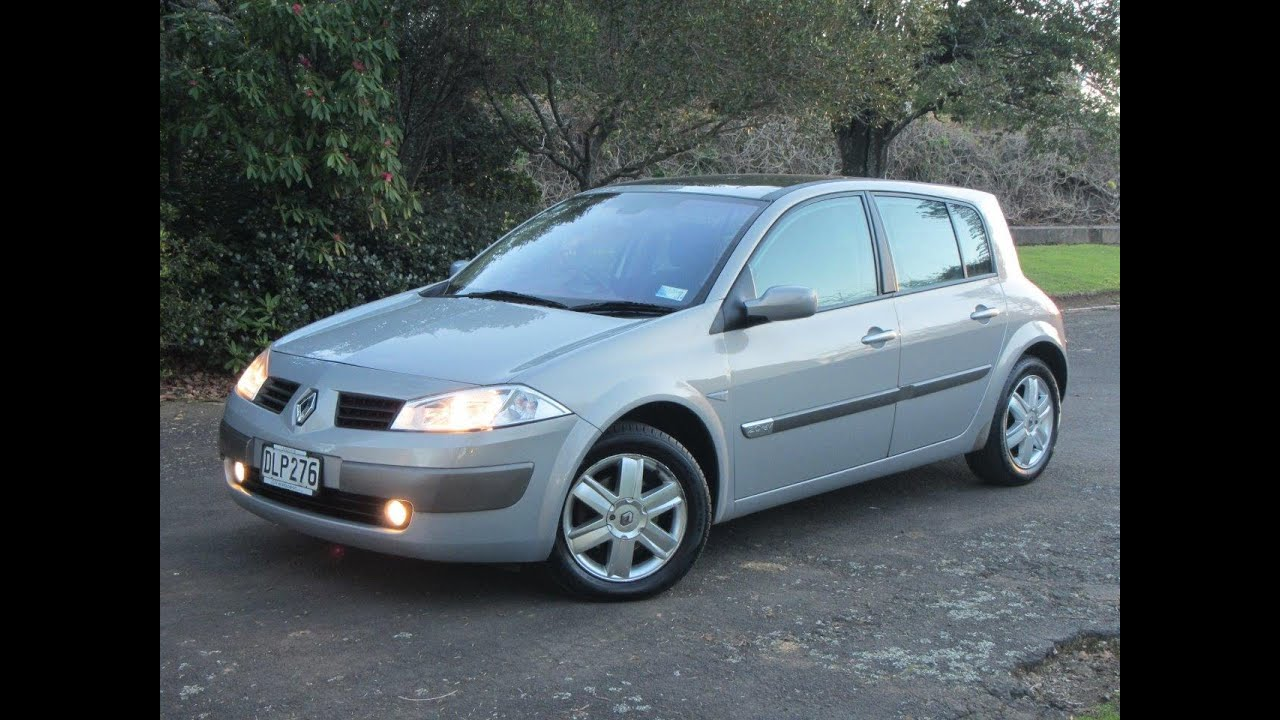 2003 renault megane ii nz new hatchback  1 reserve Hatchback Models Hatchback Models
