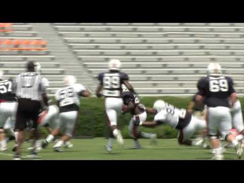 Auburn Saturday Scrimmage Video.mpg