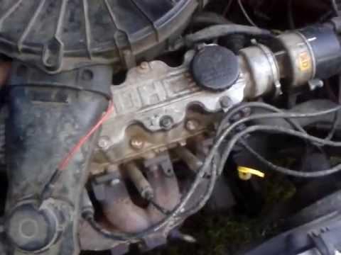 Проверка меток ГРМ Opel 16DA - YouTube