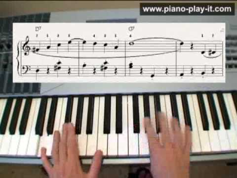 How to Play The Entertainer on Piano by Scott Joplin (with free piano sheet)