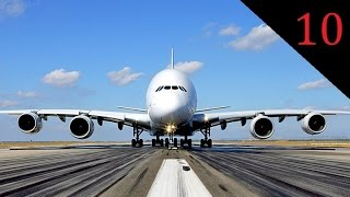 |HD| TOP10 Biggest planes in the world - by number of passengers
