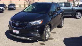 2017 Buick Encore FWD Flip And Fold Rear Seats Black Oshawa ON Stock #171031