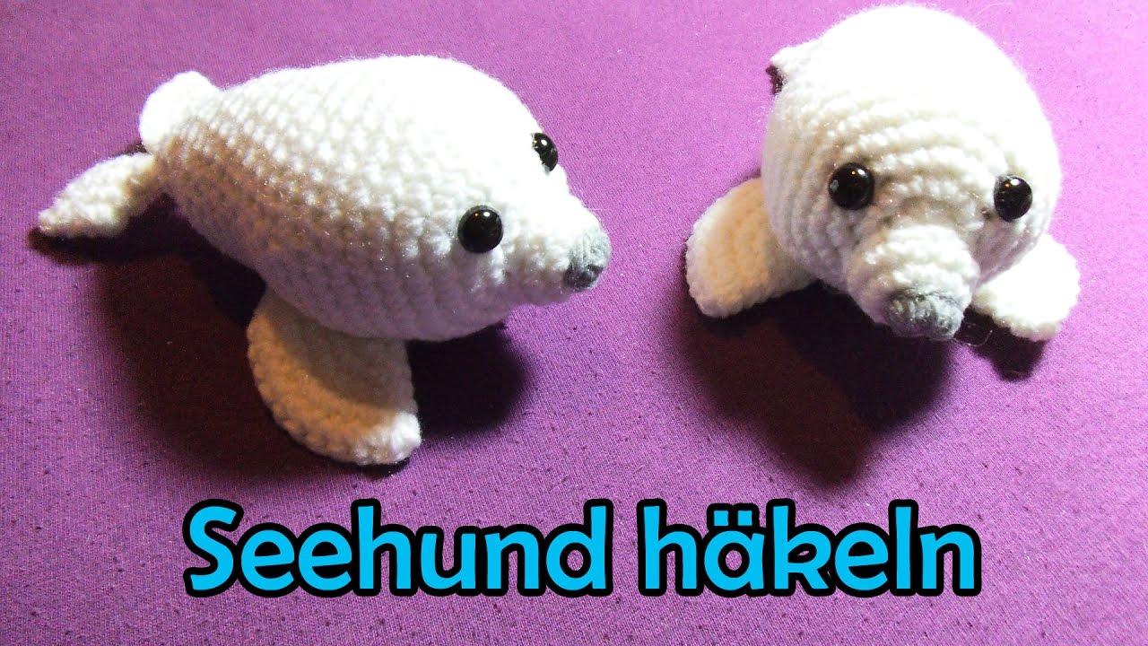 Seehund Häkeln Romy Fischer Häkelanleitung Youtube
