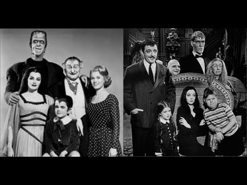 the addams family the munsters halloween tribute - Munsters Halloween Episode