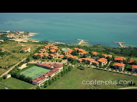 Black Sea Rama Golf & Villas, Bulgaria -Aerial video - Part 1
