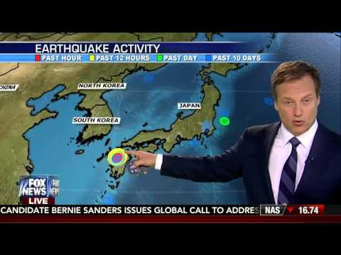 Earthquake : Powerful 7.1 Earthquake rocks Southern Japan after 6.2 foreshock (Apr 15, 2016)