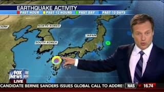 Earthquake : Powerful 7.1 Earthquake rocks Southern Japan after 6.2 foreshock (Apr 15, 2016)