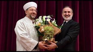 Diyanet İşleri Başkanı Prof. Dr. Ali Erbaş göreve başladı… 2017 Video