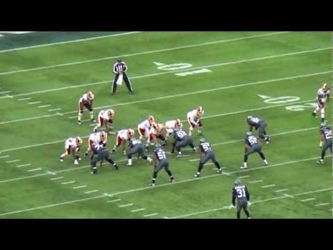 12th Fan View - 2011 Week 12 Redskins Vs Seahawks Part I