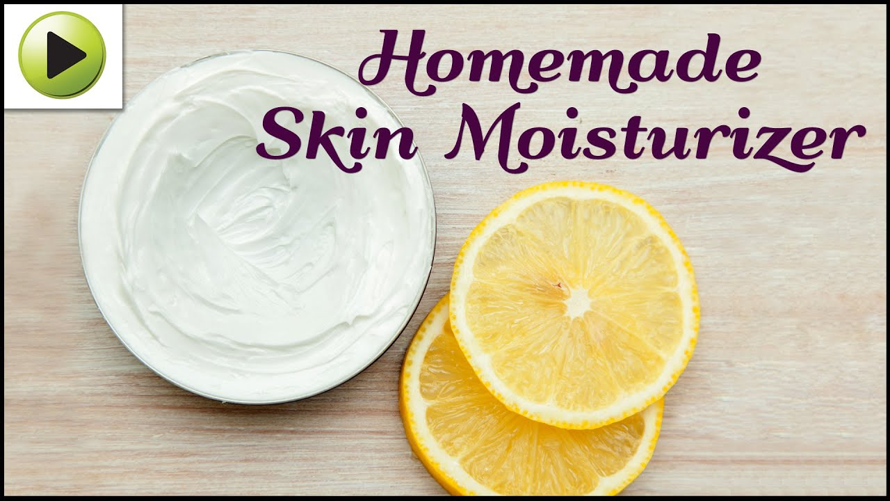 homemade moisturizer for dry skin