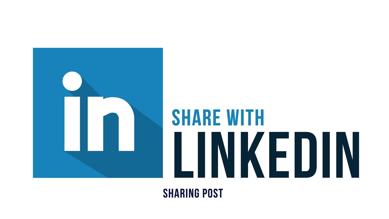 5b3d09ba6c80ae Share with LinkedIn - Sharing Posts - Part 4 - YouTube