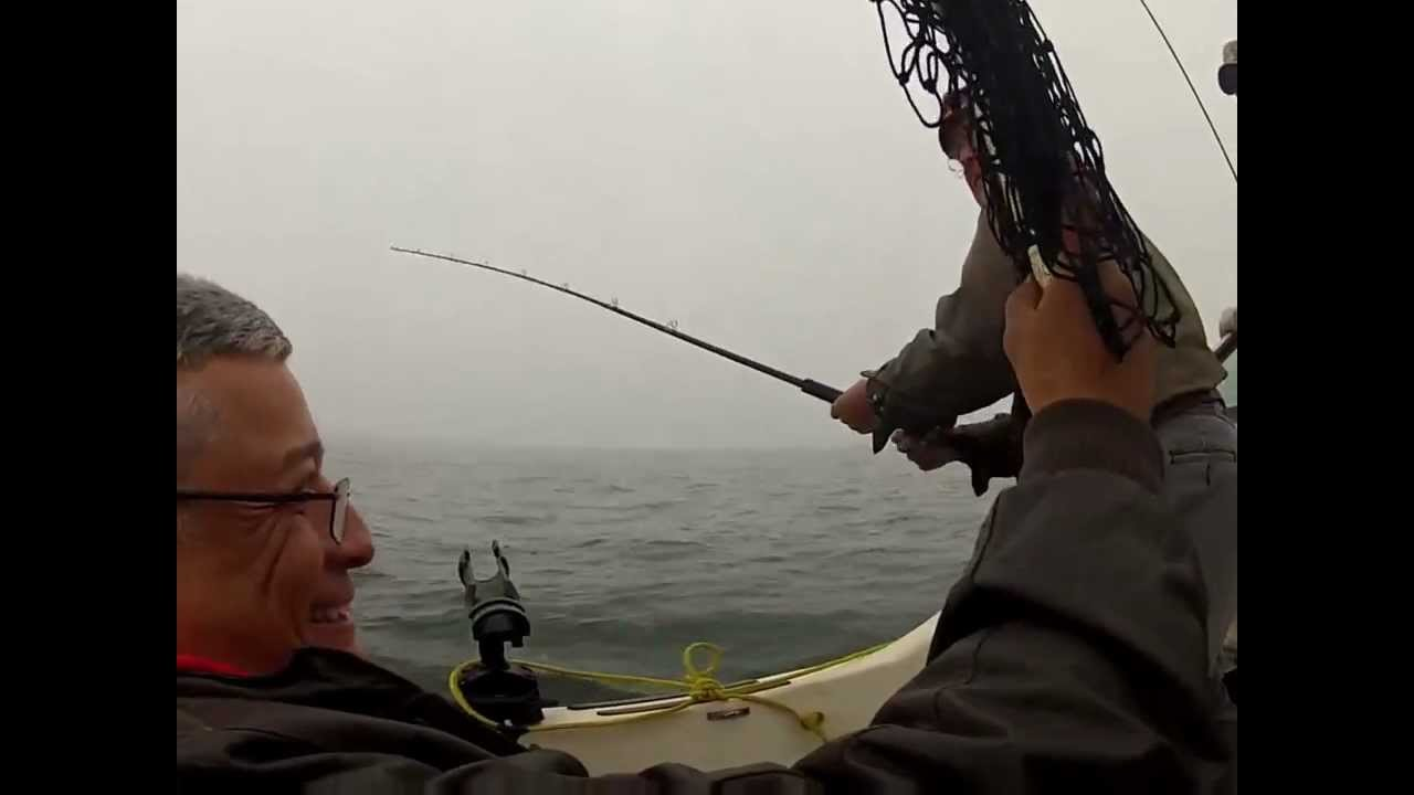 Fishing Salmon - Pacific Ocean - GoProHero2 HD